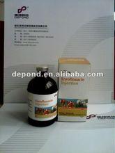Enrofloxacin injection 10% pig medicine