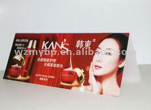 PVC beauty advertising emblem manufacturer