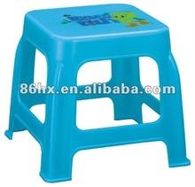 2012Retro decals cube plastic step stools