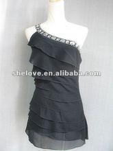 vestidos de la liga de la señora