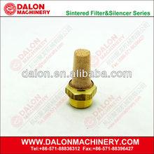 Latón ( neumático silenciador silenciador, Silenciador de aire ), Cabeza plana neumático silenciador silenciador