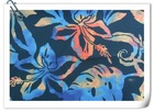 100% Polyester floral pattern sublimation print Fabric