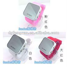 fashion led jelly watch