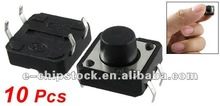 12 x 12 x 8mm Push Button Momentary Tact Switches