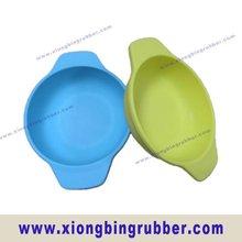 Food grade custom silicone baby feeding bowl