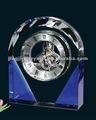 hecho a mano azul reloj de pared en reloj de plata china mecanismo nuevo e innovador producto