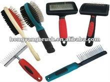2012 new useful pet grooming brush