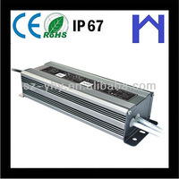 24v 80W LED DRIVER waterproof power supply IP67 with CE ROHS