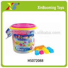 Educational toys plastic 72 PCS toy connecting building blocks