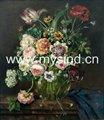 pintadas à mão fotos de flores