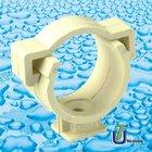 CPVC/UPVC mono D'clip DIN PN16/cpvc fittings/plastic fittings/cpvc fittings DIN8079