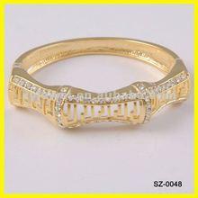 2012 gold plated bracelet