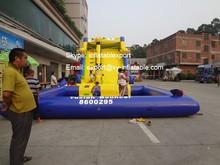 inflatable water slide used spongebob inflatable water slide with pool