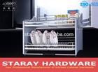 HPJ701C Kitchen Cabinet Adjustable Pull Down Shelf