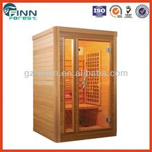 dry sauna room, sauna house 2 person use massage sauna room