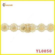 Wholesale western belts gold chain belts feminine