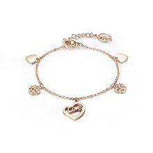 Newest fashion rose gold bracelet models