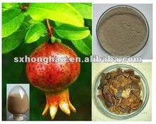 40-80% Polyphenol UV Brown or 40% Ellagic acid HPLC Gray Pomegranate Extract Powder
