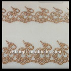 Fashion french lace trim embroidery
