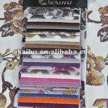 Purple cut 100% polyester Printed Velvet Upholstery Fabrics