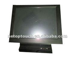 LCD touch screen desktop kiosk