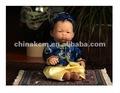 new born baby vinil boneca menino