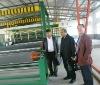 PVC flex banner production line--laminated machine