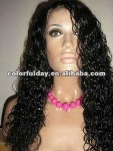 Top quality silk top Virgin remy European human hair jewish wig