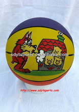 rubber basketball size 3