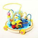 colorido cuentas de madera de juguete