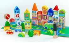 wooden block & wooden toys for children