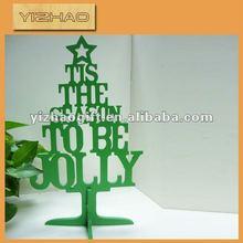 hot sale import unique christmas wood decoration