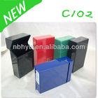 manul plastic cigarette case C102 Top classic Metal cigarette holder/cigarette case