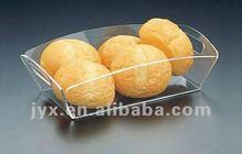 new design fashionable acrylic bread tray