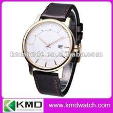 Fashionable OEM big dial Cheap quart Wrist watch for men watch
