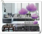 AY110B flowers DIY wall stickers