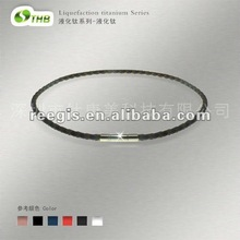 Fashion sports energy titanium necklace, titanium pendant