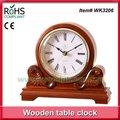la meilleure horloge en bois de vente de mantel d'antiquité d'horloge de bureau de marchandises de 25x22cm