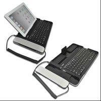 Aluminum alloy Bluetooth keyboard for IPAD 2 , bluetooth keyboard for iPhone 4 4s with microphone, bluetooth keybaord for IPAD2