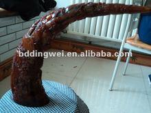 sculpture sur corne de bœuf