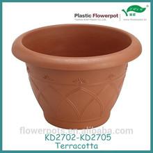 KD2702--KD2705 Plastic Terracotta planters