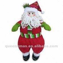 Sitting Christmas Fabric Santa Claus decoration