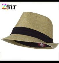 Natural Black Child Polyester Fedora Hat
