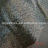 hot sale gold print dyeing sofa suede fabric