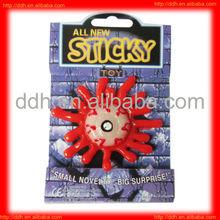 plastic soft sticky eyes toy/vending machine capsule toy