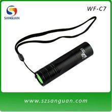 waterproof aluminum Cree Q5 LED flashlight with 240 lumen