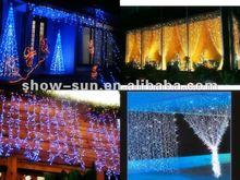 360 LED Chasing Curtain LED Lights Christmas