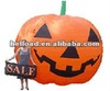 Inflatable Halloween pumpkin with led light