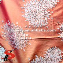 Shalang fashionable latest flocked design of drapery