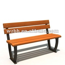 Public Bench With Backrest BH19801